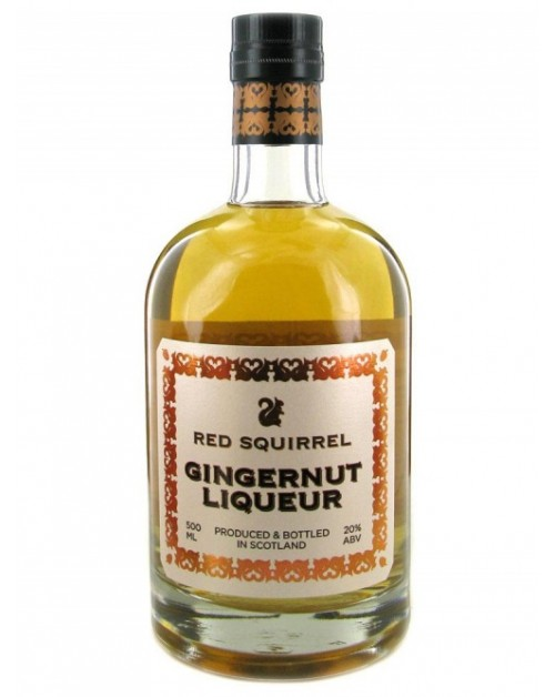 Red Squirrel Gingernut Liqueur