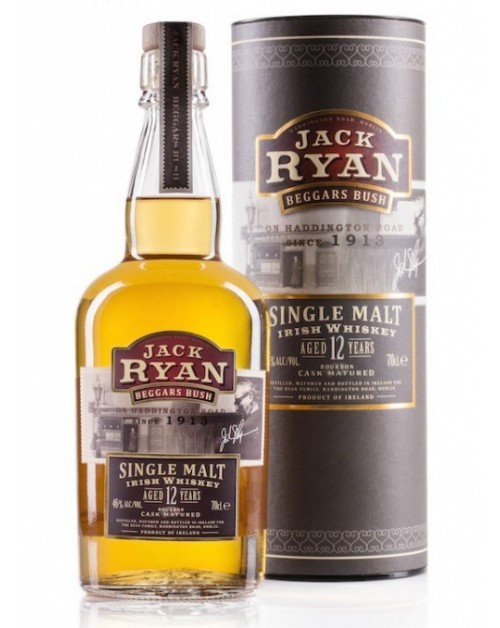 Jack Ryan 12 Year Old Single Malt Irish Whiskey