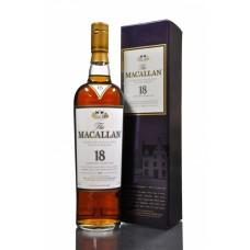 Macallan 18 Year Old. 1991 Distillation