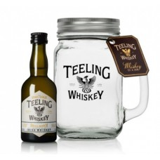 Teeling Whiskey Miniature In A Mason Jar