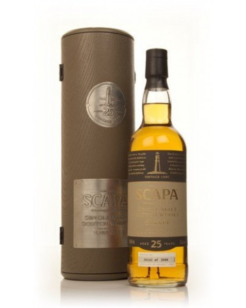 Scapa 25 Year Old Single Malt Whisky