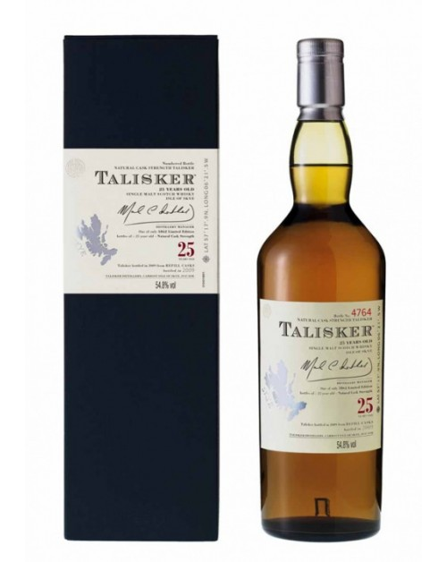 Talisker 25 Year Old Single Malt Whisky