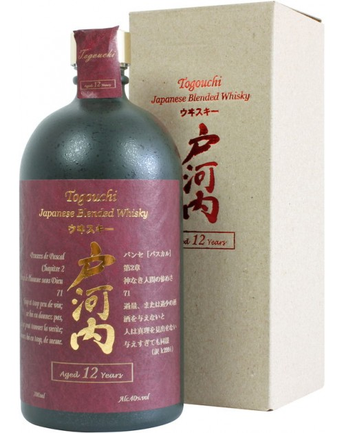 Togouchi Blended Whisky 12 Year Old