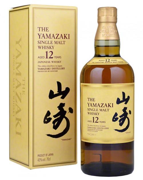 Yamazaki 12 Year Old Japanese Whisky